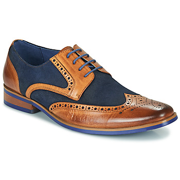 Shoes Men Derby shoes Kdopa MANI Camel / Blue