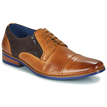 Shoes Men Derby shoes Kdopa SNOOP Camel / Blue
