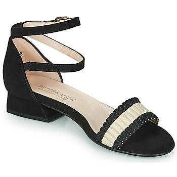 Shoes Women Sandals Peter Kaiser PUERTO Black