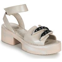 Shoes Women Sandals Papucei AMON Beige