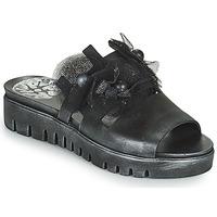 Shoes Women Mules Papucei ARO Black