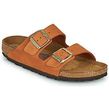 Shoes Women Mules Birkenstock ARIZONA SFB Orange