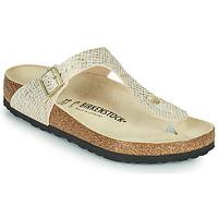 Shoes Women Flip flops Birkenstock GIZEH Gold