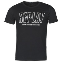 material Men short-sleeved t-shirts Replay M3395-2660 Black
