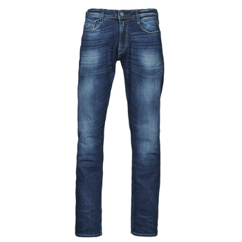 material Men straight jeans Replay ROCCO Pants Blue / Dark