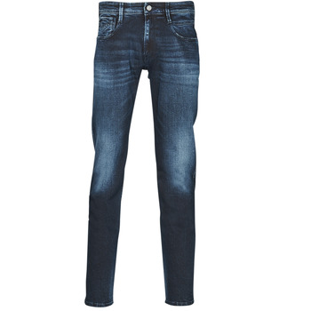 material Men slim jeans Replay ANBASS Pants Blue / Dark