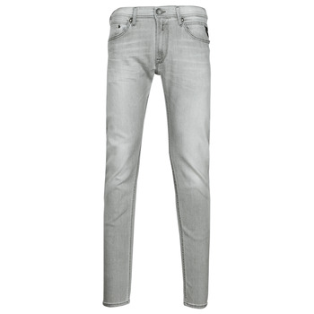 material Men Skinny jeans Replay JONDRILL Pants Grey