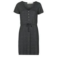 material Women Short Dresses Deeluxe ALINA Black