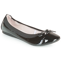 Shoes Women Ballerinas Moony Mood ELALA Varnish / Black