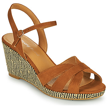 Shoes Women Sandals Moony Mood MALIA Camel