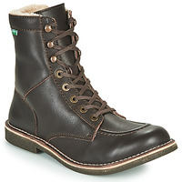 Shoes Men Mid boots Kickers KICKSTONERY Brown