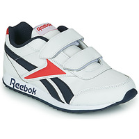 Shoes Children Low top trainers Reebok Classic REEBOK ROYAL CLJOG 2 2V White / Marine / Red
