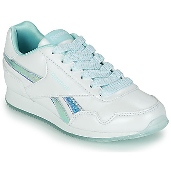 Shoes Girl Low top trainers Reebok Classic REEBOK ROYAL CLJOG 3.0 White / Blue