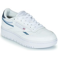 Shoes Women Low top trainers Reebok Classic CLUB C DOUBLE White / Blue