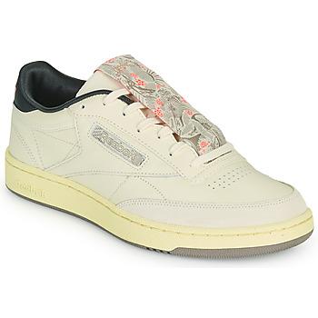 Shoes Men Low top trainers Reebok Classic CLUB C 85 Beige / Black