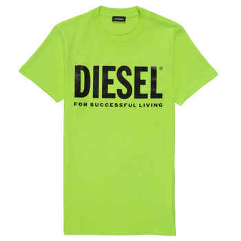 material Children short-sleeved t-shirts Diesel TJUSTLOGO Green