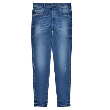 material Girl Skinny jeans Diesel D-SLANDY HIGH Blue