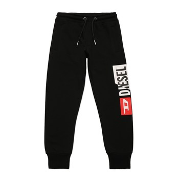 material Boy Tracksuit bottoms Diesel PCUTY Black