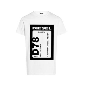 material Boy short-sleeved t-shirts Diesel TFULL78 White