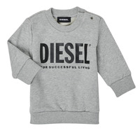 material Children sweaters Diesel SCREWDIVISION LOGOB Grey