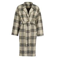 material Women coats Betty London  Black / Beige