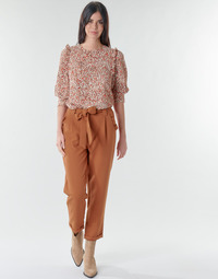 material Women 5-pocket trousers Betty London  Rust