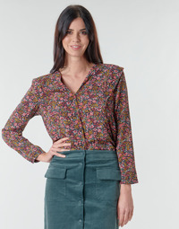 material Women Blouses Betty London  Pink / Multicolour