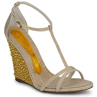 Shoes Women Sandals Magrit JOAQUINA Beige / Gold