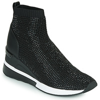Shoes Women High top trainers MICHAEL Michael Kors SKYLER Black