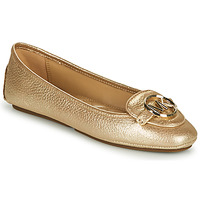 Shoes Women Ballerinas MICHAEL Michael Kors LILLIE MOC Gold