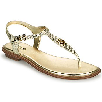 Shoes Women Sandals MICHAEL Michael Kors MALLORY THONG Gold