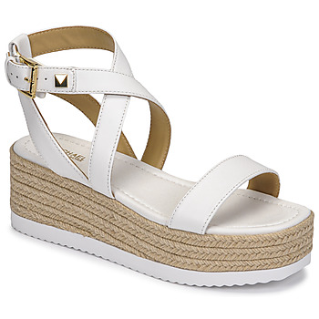 Shoes Women Sandals MICHAEL Michael Kors LOWRY WEDGE White