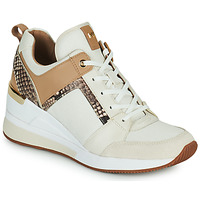Shoes Women Low top trainers MICHAEL Michael Kors GEORGIE TRAINER Beige