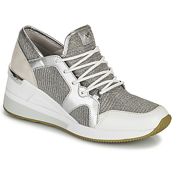 Shoes Women Low top trainers MICHAEL Michael Kors LIV TRAINER Silver