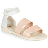 Shoes Women Sandals Melissa MELISSA MODEL SANDAL White / Pink