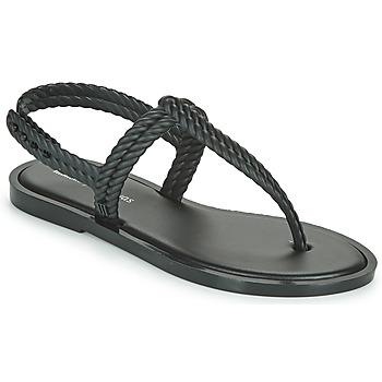 Shoes Women Flip flops Melissa FLASH SANDAL + SALINAS Black