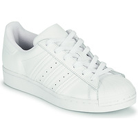 Shoes Children Low top trainers adidas Originals SUPERSTAR J White