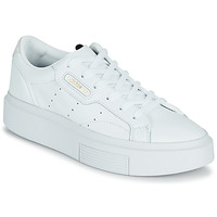 Shoes Women Low top trainers adidas Originals adidas SLEEK SUPER White