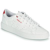 Shoes Women Low top trainers adidas Originals adidas SLEEK W White