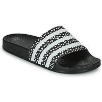 Shoes Women Sliders adidas Originals ADILETTE W Black / White