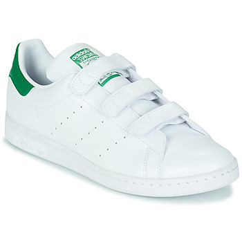 Shoes Low top trainers adidas Originals STAN SMITH CF SUSTAINABLE White / Green