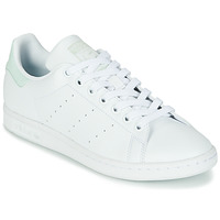 Shoes Women Low top trainers adidas Originals STAN SMITH W SUSTAINABLE White / Green