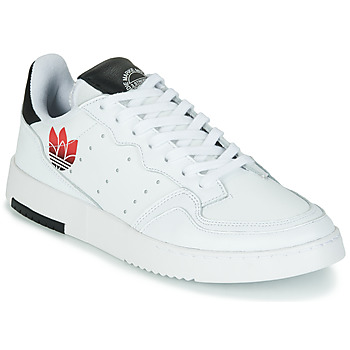 Shoes Women Low top trainers adidas Originals SUPERCOURT White / Black
