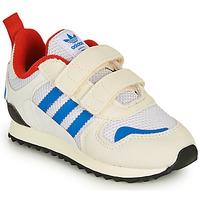 Shoes Children Low top trainers adidas Originals ZX 700 HD CF I Beige / Blue