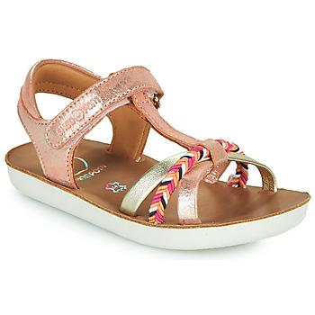 Shoes Girl Sandals Shoo Pom GOA SALOME Pink