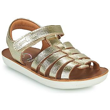 Shoes Girl Sandals Shoo Pom GOA SPART Silver