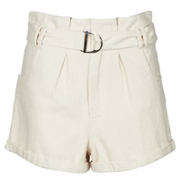 material Women Shorts / Bermudas Betty London ODILE Beige