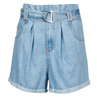 material Women Shorts / Bermudas Betty London ODILON Blue / Medium