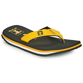 Shoes Men Flip flops Cool shoe ORIGINAL Black / Yellow