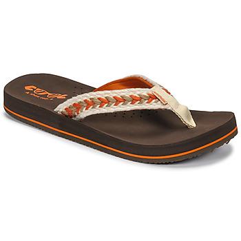 Shoes Women Flip flops Cool shoe NUBE Brown